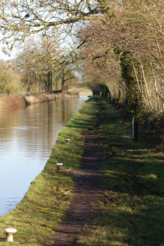Path along canal